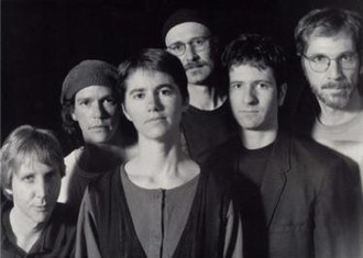 Thinking Plague - Thinking Plague in 1998 From the left: Dave Kerman, Dave Willey, Deborah Perry, Mark Harris, Shane Hotle, Mike Johnson.