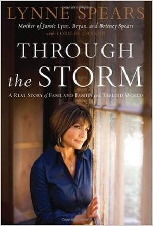 Through the Storm: A Real Story of Fame and Family in a Tabloid World - Cover