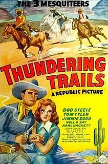 <i>Thundering Trails</i> 1943 film by John English
