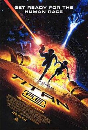Titan A.E. - Theatrical release poster