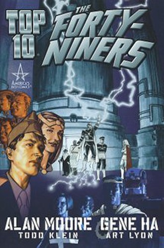 Top 10: The Forty-Niners - Cover to graphic novel