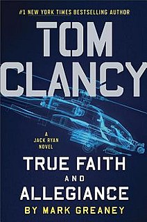 <i>True Faith and Allegiance</i> book by Mark Greaney