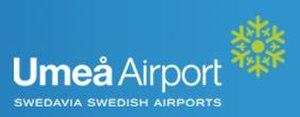 Umeå Airport - Image: Umeå Airport Logo