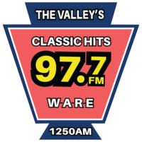 WARE Logo After Classic Hits Rebrand