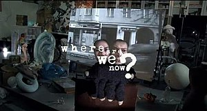 Where Are We Now? - Bowie and Humphries as conjoined puppets