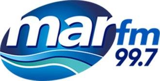 XHPB-FM - Image: XHPB Mar FM99.7 logo