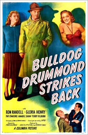 "Bulldog Drummond Strikes Back (1947 film) - Image: ""Bulldog Drummond Strikes Back"" (1947)"