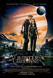<i>Jupiter Ascending</i> 2015 space opera film