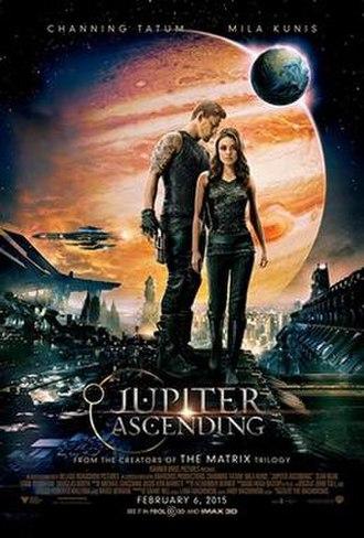 Jupiter Ascending - Theatrical release poster