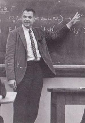 Herbert Robbins - Herbert Robbins visiting Purdue in 1966