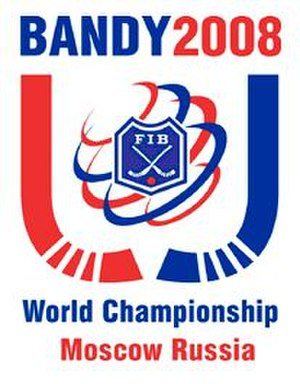 Olympic Stadium (Moscow) - The Bandy World Championship 2008 logo