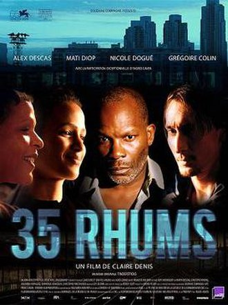 35 Shots of Rum - Theatrical film poster