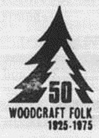 The Woodcraft Folk -  50th Anniversary Logo used in 1975