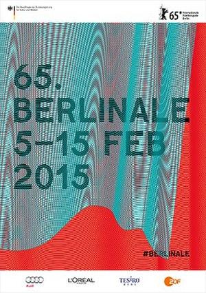 65th Berlin International Film Festival - Festival poster