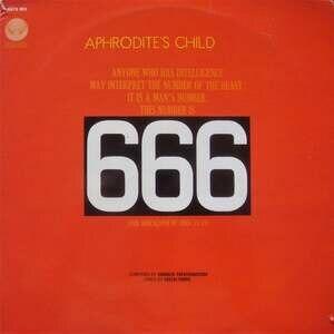 666 (Aphrodite's Child album) - Image: 666 Aphrodite's Child