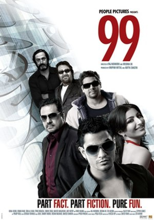 99 (2009 film) - Theatrical release poster