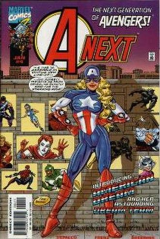 American Dream (comics) - Image: A Next no.4 (Cover art)