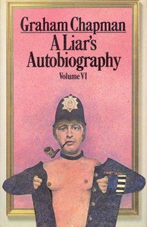 A Liar's Autobiography - Front cover