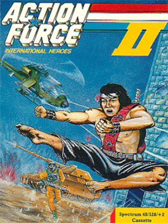 Action Force (video game) - Image: Action Force II Coverart