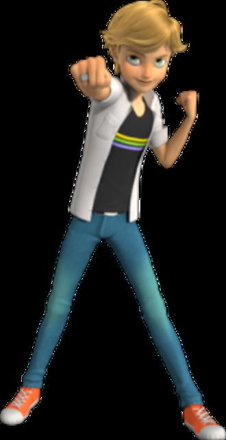 Adrien Agreste - Adrien Agreste as he is depicted in his civilian form