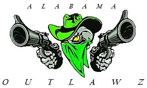Alabama Outlawz - Image: Alabama Outlawz logo