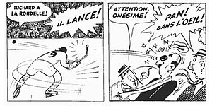 Albert Chartier - Chartier's Onésime was the longest-lived Québec comic strip