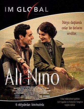 Ali and Nino (film) - Image: Ali and Nino poster