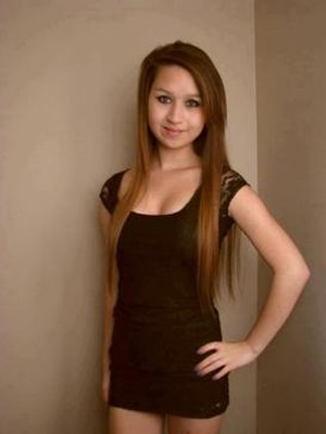 Suicide of Amanda Todd - Facebook photo of Todd