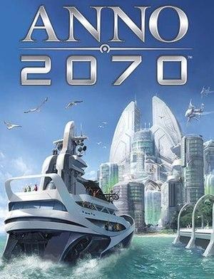 Anno 2070 - European cover art