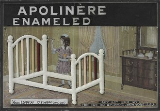 Apolinère Enameled - Image: Apolinère Enameled by Marcel Duchamp