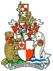 Arms of the Royal Heraldry Society of Canada