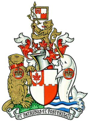 Royal Heraldry Society of Canada - Arms of the Royal Heraldry Society of Canada