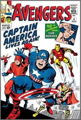 Avengers (1964) March poster 4
