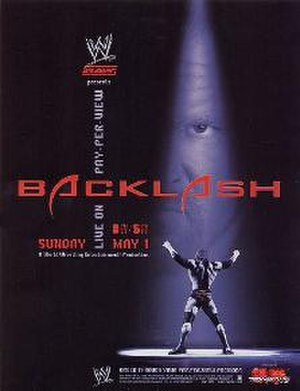 Backlash (2005) - Promotional poster featuring Triple H