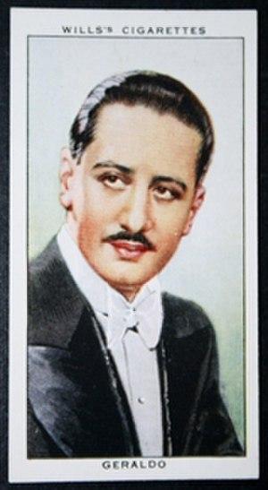 Geraldo (bandleader) - 1935 Wills' cigarette card