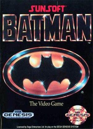 Batman (Sega Genesis video game) - North American box art
