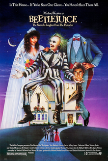 Image result for beetlejuice 1988 cover