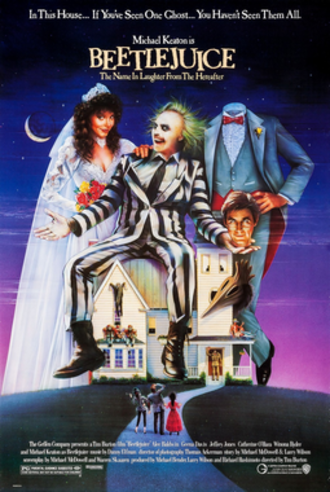 Beetlejuice - Theatrical release poster by Carl Ramsey