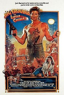 <i>Big Trouble in Little China</i> 1986 film directed by John Carpenter