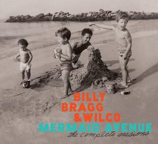 <i>Mermaid Avenue: The Complete Sessions</i> 2012 box set by Billy Bragg and Wilco