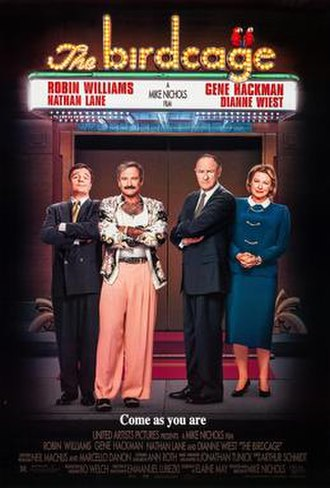 The Birdcage - Theatrical release poster