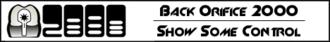 Back Orifice 2000 - Back Orifice 2000 advertisement (featuring the original logo)