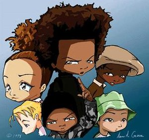 The Boondocks (comic strip) - Image: Boondockscast