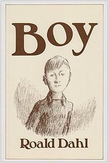 <i>Boy</i> (book) autobiographical book by Roald Dahl