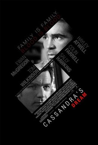 Cassandra's Dream - Theatrical release poster