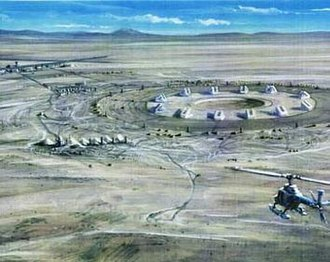 Contact (1997 American film) - Concept drawing of early NASA site idea