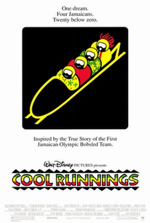 Cool Runnings - Theatrical release poster