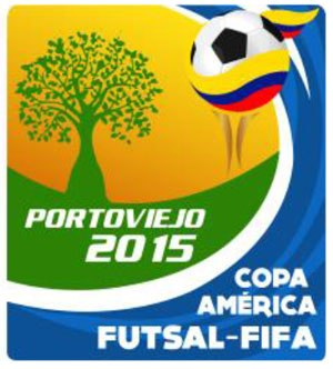2015 Copa América de Futsal - Image: Copa America FIFA Futsal 2015 Logo