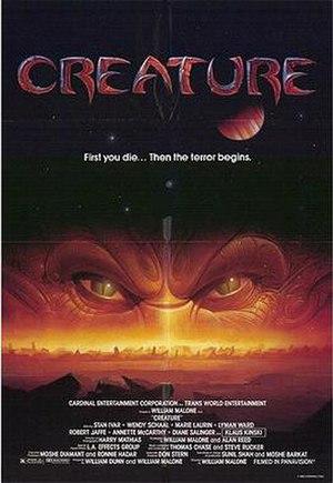 Creature (1985 film) - Theatrical release poster