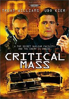 <i>Critical Mass</i> (film) 2000 low budget action film directed by Fred Olen Ray